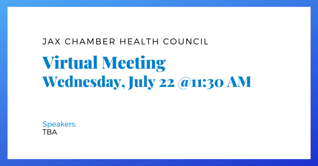 July 2020 Health Council Meeting